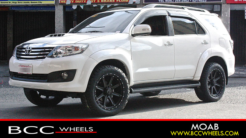 Toyota Fortuner Rims Mags